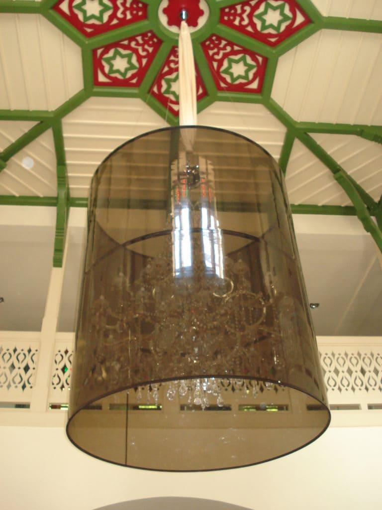 Lampa wisząca w Pijalni Wód