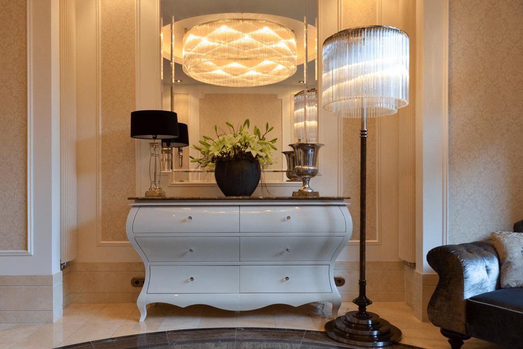 Warszawa luksusowe oświetlenie