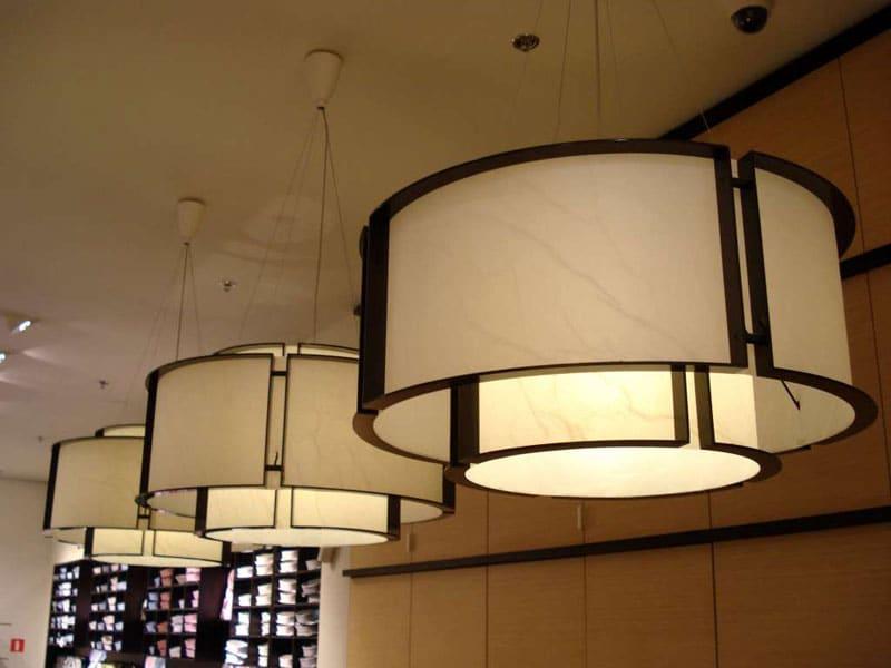 Warszawa lampa z abażurem na zamówienie