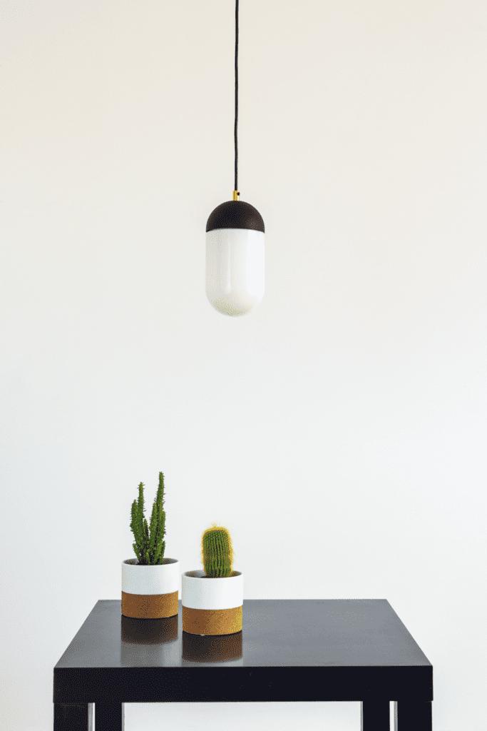 wisząca lampa na zamówienie